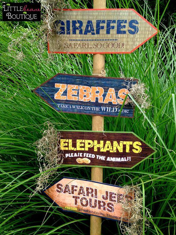 Fiesta Temática de African Safari