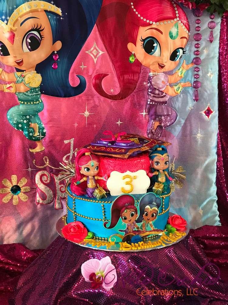 Ideas De Shimmer Y Shine Para Fiesta 29 Decoracion De
