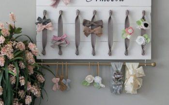 ¡¡Ideas para organizar los moños de Tus Hijas!!