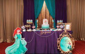 Ideas para fiesta temática de la Sirenita