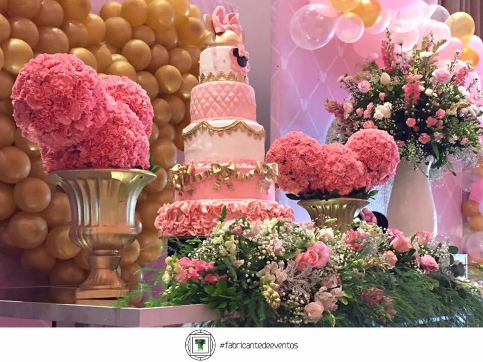 Fiesta tematica de minnie en rosa y dorado 32 for Decoracion de cumpleanos rosa y dorado