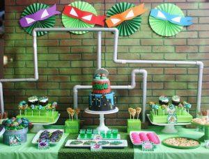 ¡Fiesta Temática de las Tortugas Ninjas!