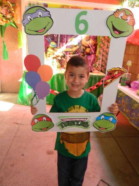 Fiesta temática de las tortugas ninjas