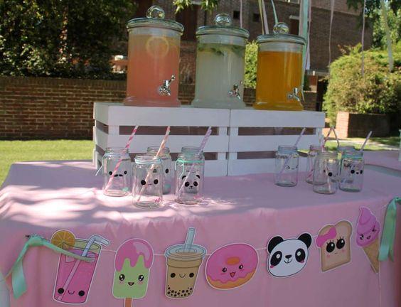 ¡Ideas para una Fiesta llena de Ternura: Kawaii!