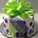 Deliciosos pasteles de fondant de malvavisco