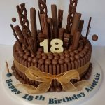 Diseños de pasteles para 18 años
