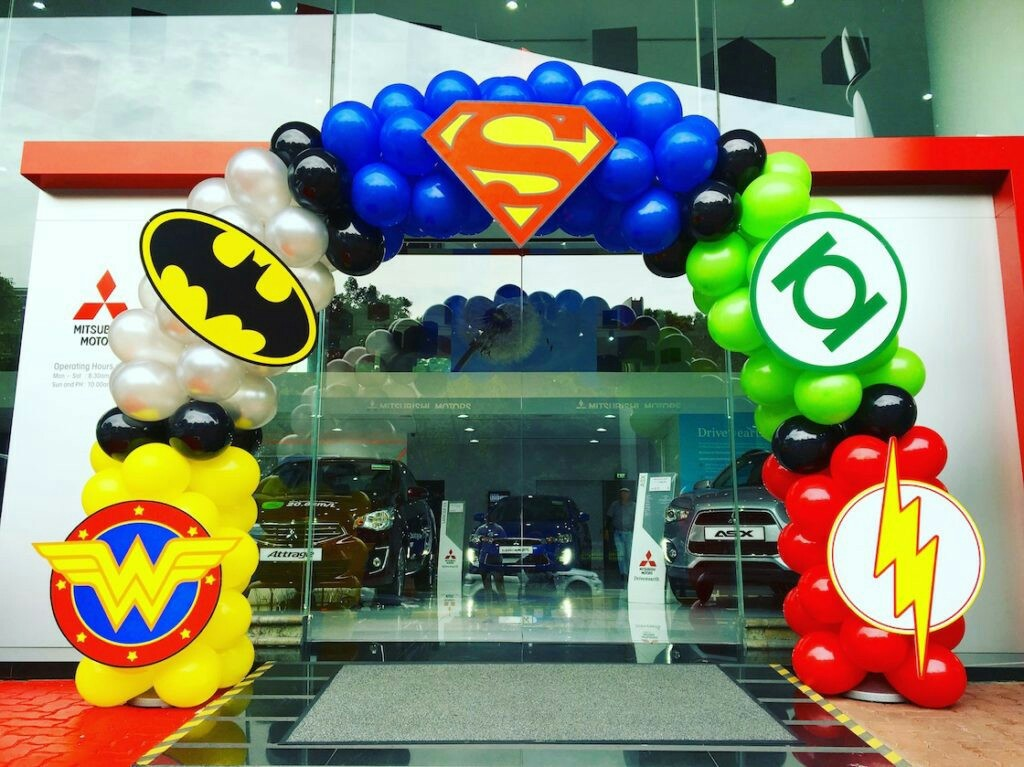 Matrimonio Tema Marvel : Fiesta de superheroes para niños decoracion