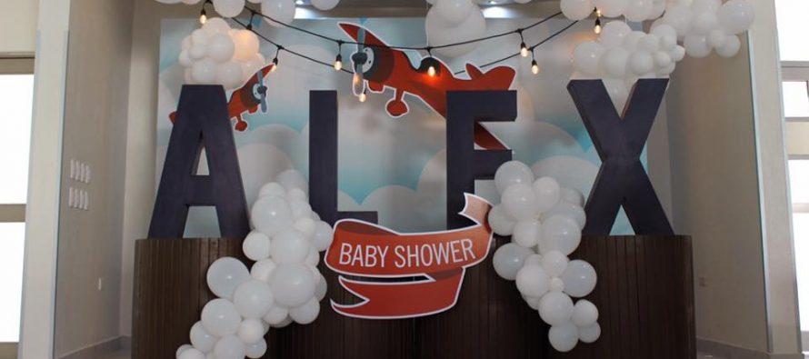 ¡Ideas para Un Baby Shower de Aviones!