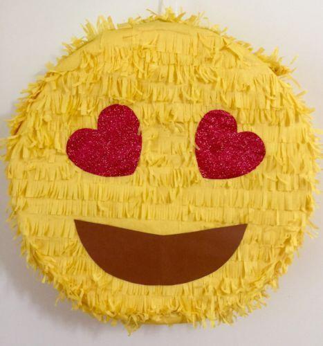 Piñata para fiesta de emojis