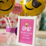 Ideas para Decorar una Fiesta de Emojis
