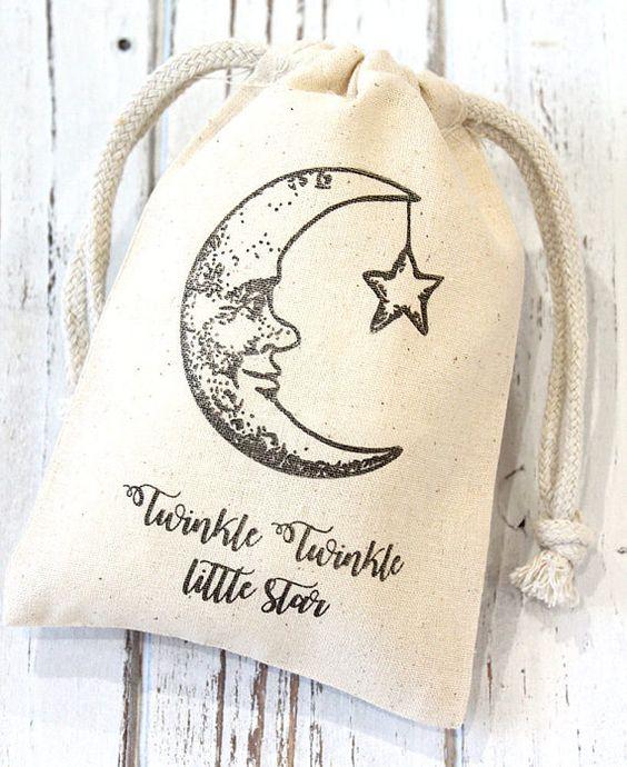 Ideas para un Baby Shower con temática de estrellas y lunas