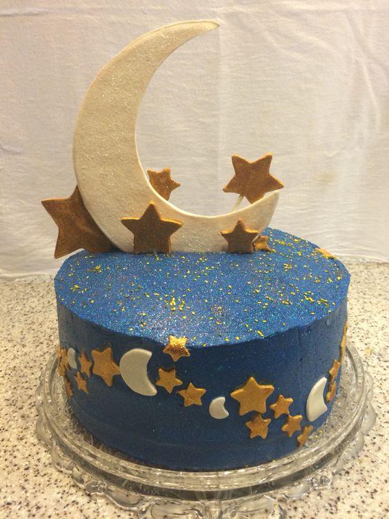 Moon Cake Topper Birthdah