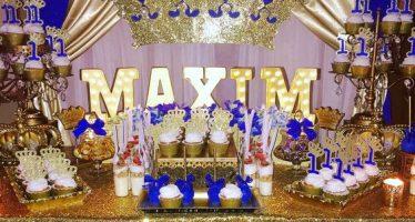 Ideas para un cumpleaños con temática de la realeza – Royal Prince
