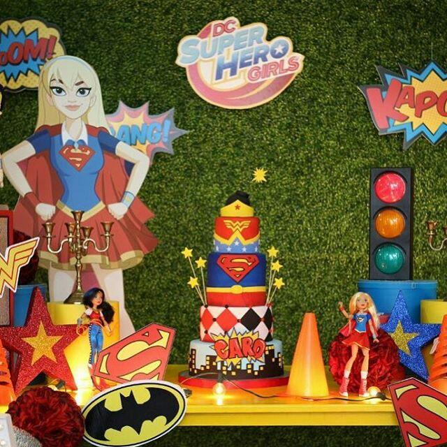 Temas de fiestas parar niña de super heroinas