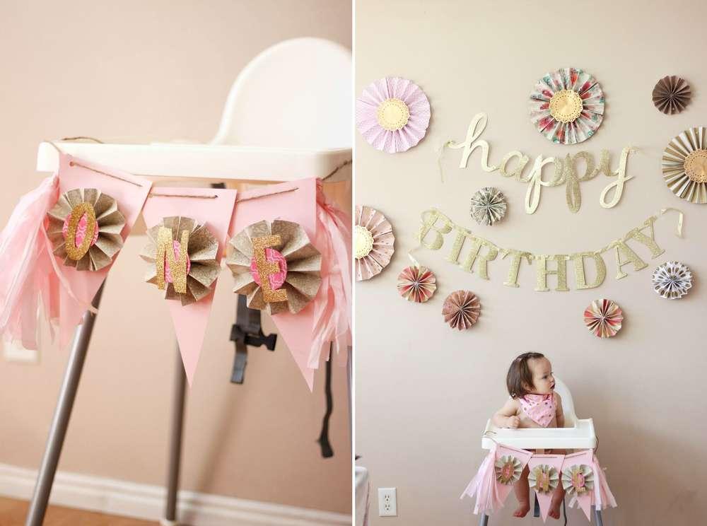 Ideas para celebrar el primer a o de tu hija en casa - Ideas para fiestas en casa ...