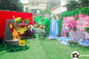 Kion junto con sus Amigos llegan a decorar un Cumpleaños al más puro Estilo de la Guardia del León