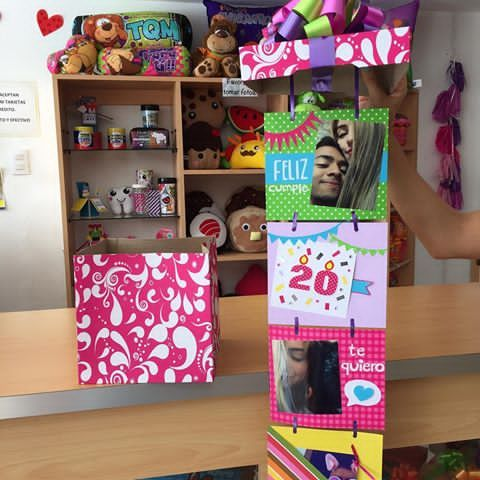 Cajas para regalos sorpresa