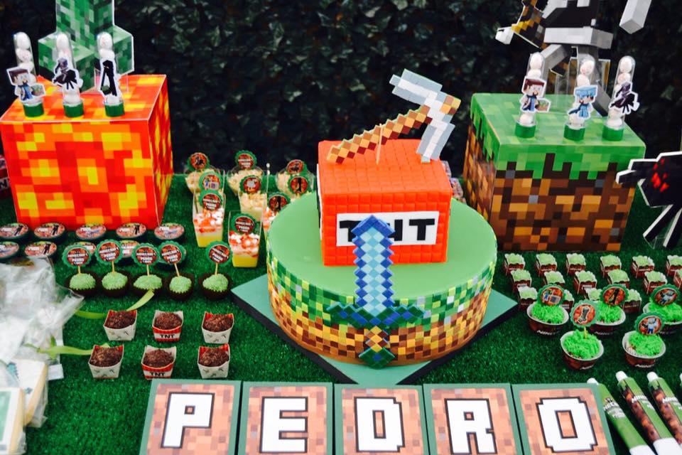 Como hacer una fiesta de minecraft 18 decoracion de - Como hacer una fiesta de cumpleanos ...