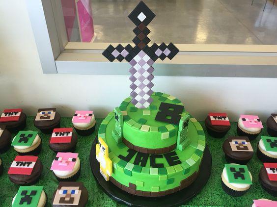 Como hacer una fiesta de minecraft 29 decoracion de - Como hacer una fiesta de cumpleanos ...