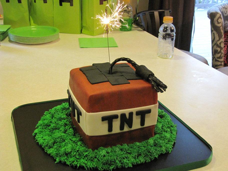 Como hacer una fiesta de minecraft 3 decoracion de - Como hacer una fiesta de cumpleanos ...