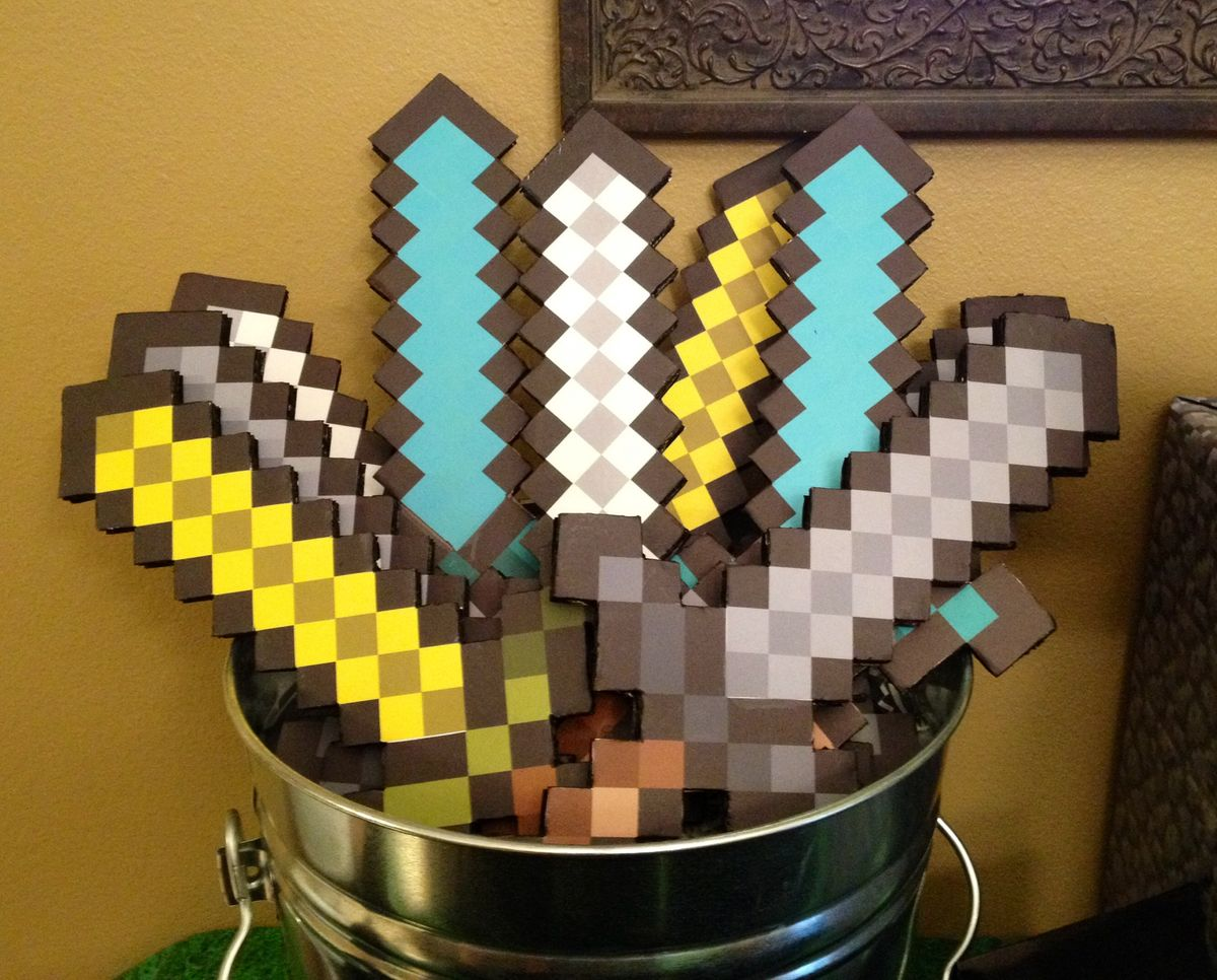 Como hacer una fiesta de minecraft 5 decoracion de - Como hacer una fiesta de cumpleanos ...