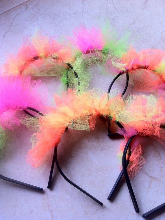 Como hacer una neon party decoracion de fiestas - Como hacer adornos para fiestas ...