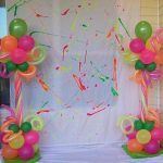 Como hacer una neon party