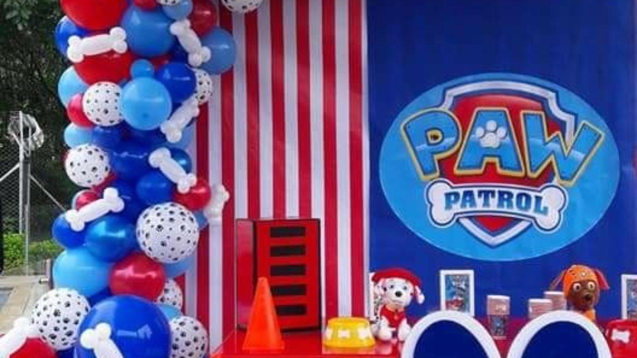Temática Para Fiesta De Dos Años De Niño Marshall Paw Patrol