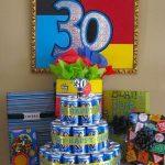Decoración para cumpleaños numero 30 - hombre