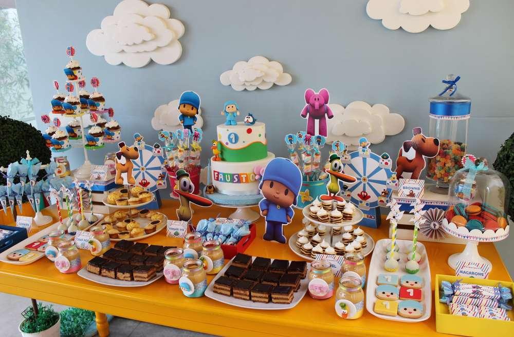 Fiesta de cumpleaños temática de Pocoyo