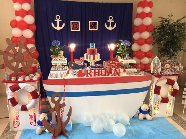 Fiesta de marinero para ni os - Fiesta marinera decoracion ...