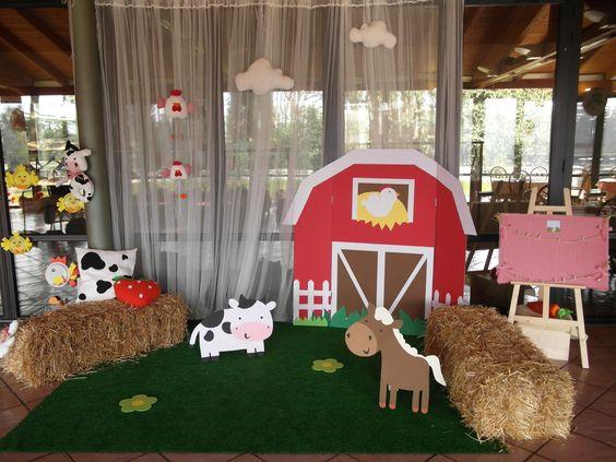 ideas para cumpleanos de la granja de zenon - Decoracion ...