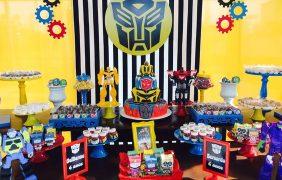 ¡Ideas para Decorar un Cumpleaños con Transformers!
