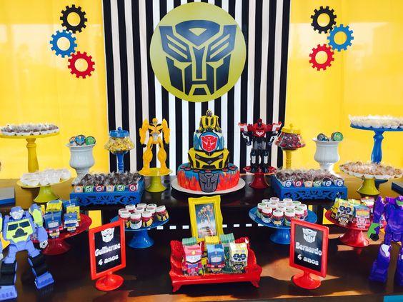 Ideas para decorar un cumplea os con transformers - Ideas para cumpleanos 10 anos ...