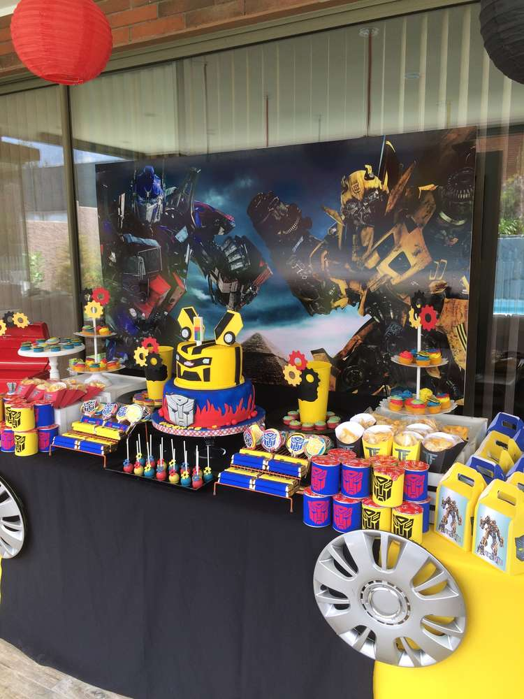 Ideas para decorar un cumplea os con transformers - Ideas decoracion cumpleanos ...
