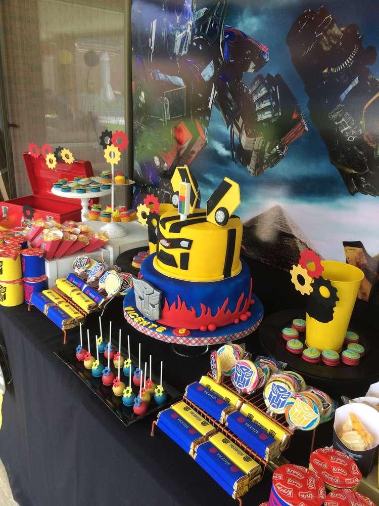 Ideas para decorar un cumplea os con transformers - Ideas para fiestas de cumpleanos ...