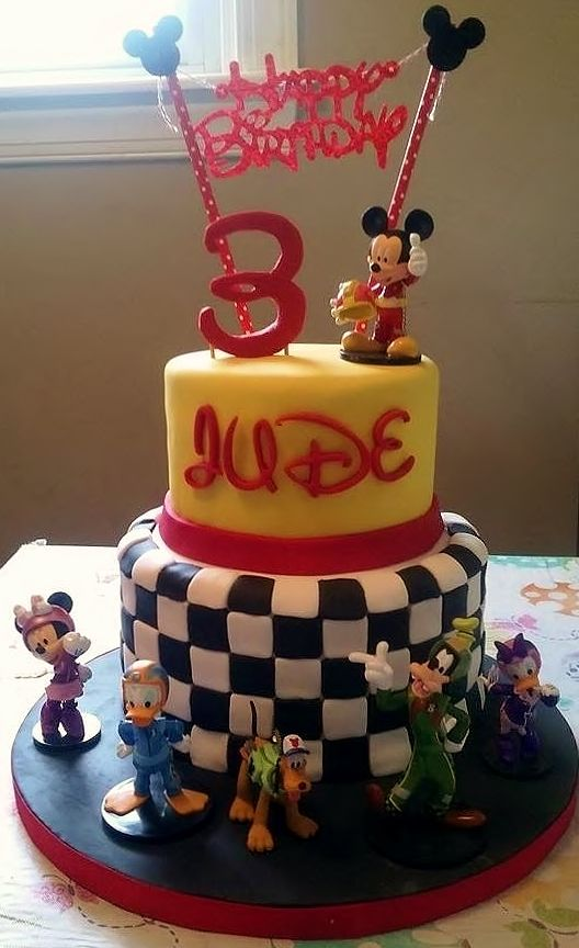 Mickey Mouse Cake Ideas