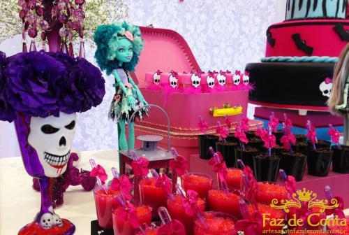 Cumplea os de monster high para ni as decoracion de - Fiesta de cumpleanos para nina ...
