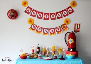 Cumpleaños lleno de Calor: Sam el Bombero para la Fiesta de tu Hijo