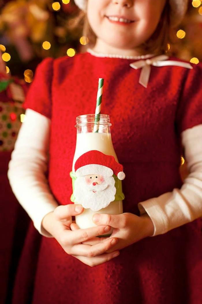 Bebidas para una Fiesta Infantil Navideña
