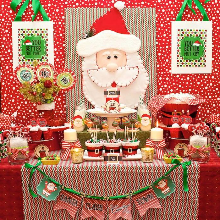 Decoracion de un Cumpleanos para Navidad (17)