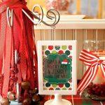 Decoracion de un Cumpleanos para Navidad (19)