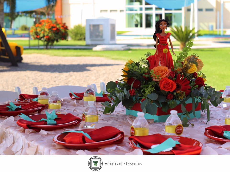 Centro de Mesa para Fiesta de Niña