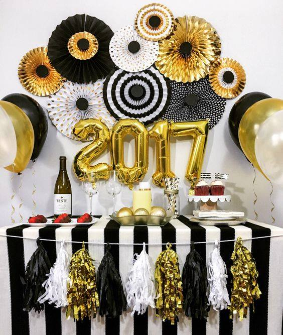 decoracion de eventos en color dorado (30)
