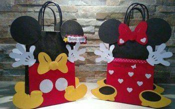 Dulceros económicos de Mickey Mouse para fiestas