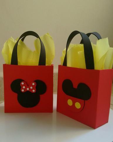 Dulceros de mickey mouse para niño y niña