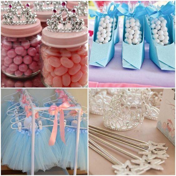caramelos y dulces para la mesa de postres tema cenicienta (2)