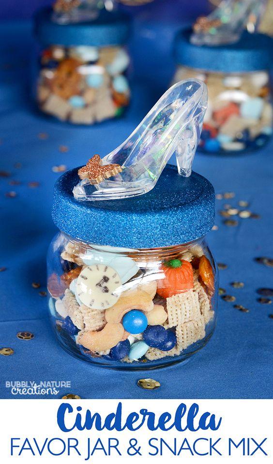 caramelos y dulces para la mesa de postres tema cenicienta