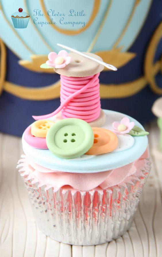 cup cake o bollos de cenicienta (3)