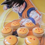 cupcakes para cumpleanos de goku